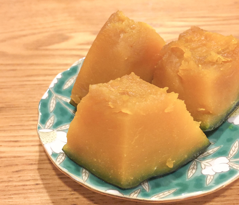 かぼちゃの煮物のズボラレシピ