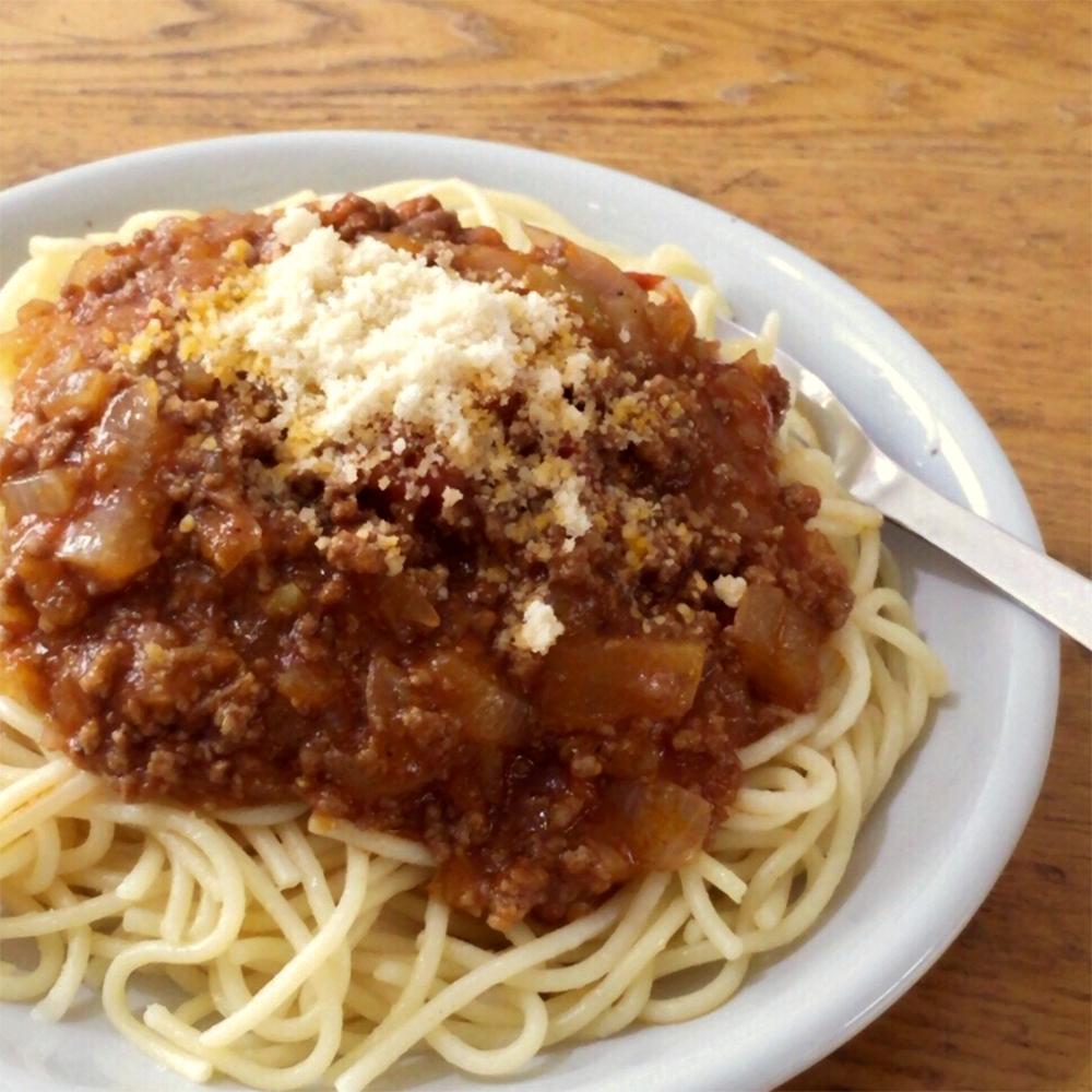 mom's spaghetti meat sauce