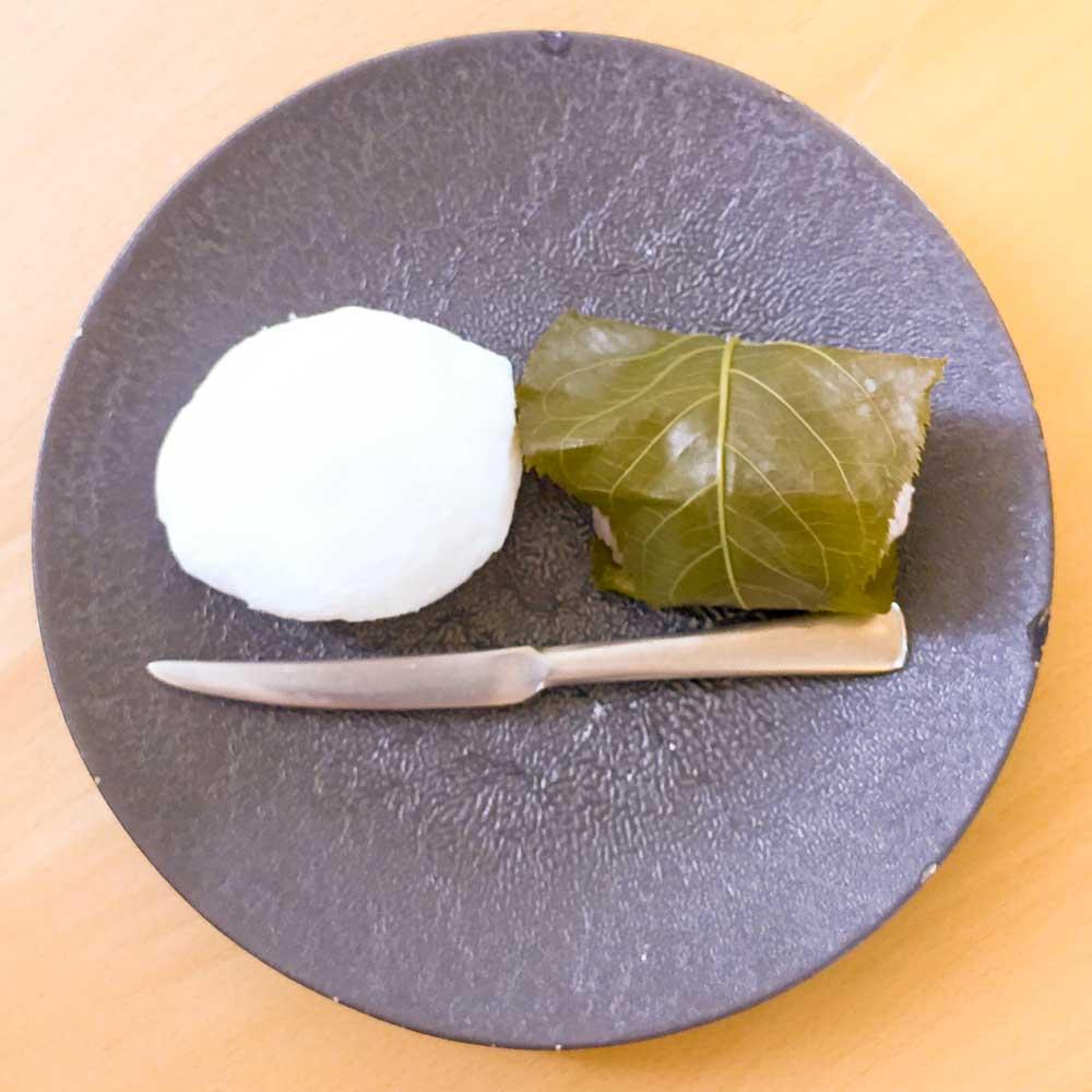 名古屋の和菓子屋花桔梗で和菓子を堪能