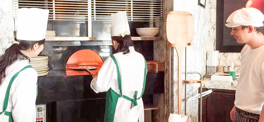 マンダリンオリエンタルthe pizza bar on 38thピザ体験教室